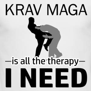 Krav Maga is my therapy - Men's Long Sleeve T-Shirt by Next Level