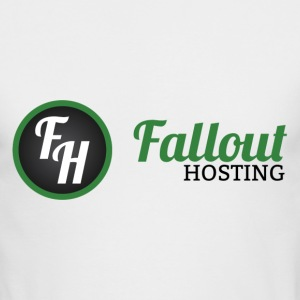 Fallout Hosting Official Logo - Men's Long Sleeve T-Shirt by Next Level
