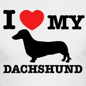 Dachshund designs - Men's Long Sleeve T-Shirt by Next Level