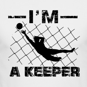 I'm a Keeper – Soccer Goalkeeper designs - Men's Long Sleeve T-Shirt by Next Level