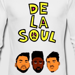 DE LA SOUL - Men's Long Sleeve T-Shirt by Next Level