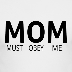 MOM (Must Obey Me) - Men's Long Sleeve T-Shirt by Next Level