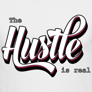 The Hustle is real - Men's Long Sleeve T-Shirt by Next Level