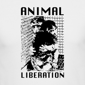 Animal Liberation - Men's Long Sleeve T-Shirt by Next Level
