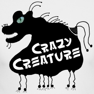 Crazy Creature - Men's Long Sleeve T-Shirt by Next Level