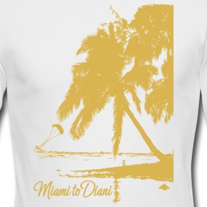 Miami To Diani Gold Collection - Men's Long Sleeve T-Shirt by Next Level
