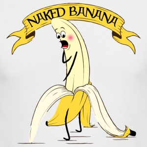 Naked Banana - Men's Long Sleeve T-Shirt by Next Level