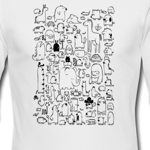 All the Beasts Imagined & Real - Men's Long Sleeve T-Shirt by Next Level