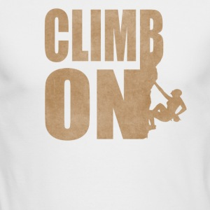 Rock Climbers Shirt - Men's Long Sleeve T-Shirt by Next Level