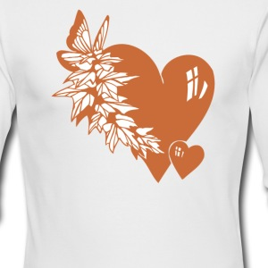 Valentine Hearts - Men's Long Sleeve T-Shirt by Next Level