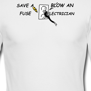 save a blow - Men's Long Sleeve T-Shirt by Next Level