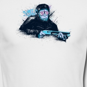 Ape War - Men's Long Sleeve T-Shirt by Next Level