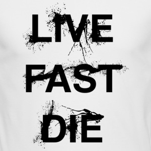 Live Fast Die - Men's Long Sleeve T-Shirt by Next Level