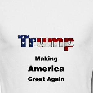 trump_making_america_great_again - Men's Long Sleeve T-Shirt by Next Level