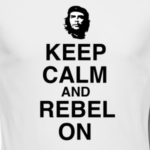 che guevara - Men's Long Sleeve T-Shirt by Next Level