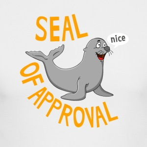 Seal of Approval - Men's Long Sleeve T-Shirt by Next Level