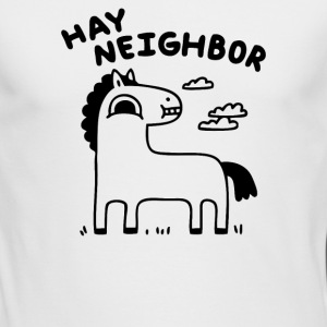 Hay Neighbor - Men's Long Sleeve T-Shirt by Next Level