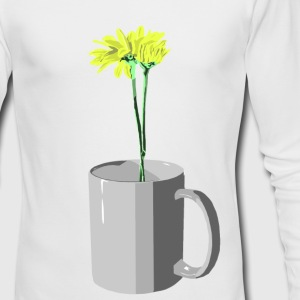 Flowers grow where needed - Men's Long Sleeve T-Shirt by Next Level