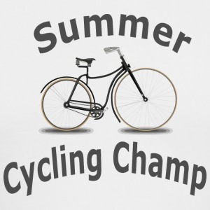 Summer Cycling Champ - Men's Long Sleeve T-Shirt by Next Level