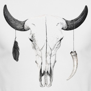 Animal Skull - Men's Long Sleeve T-Shirt by Next Level