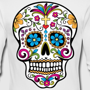 Colorful Sugar skull Special Limited Edition - Men's Long Sleeve T-Shirt by Next Level