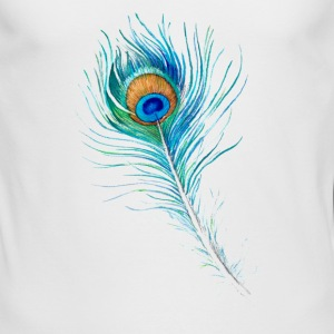 Peacock Feather - Men's Long Sleeve T-Shirt by Next Level