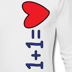Love Equation - Men's Long Sleeve T-Shirt by Next Level