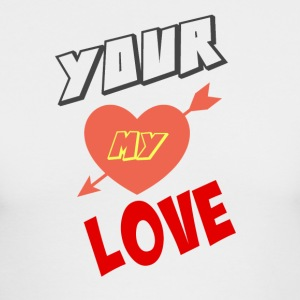 YOUR MY LOVE - Men's Long Sleeve T-Shirt by Next Level