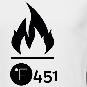 Farenheit 451 - Men's Long Sleeve T-Shirt by Next Level