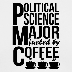 Political Science Major Fueled By Coffee - Men's Long Sleeve T-Shirt by Next Level