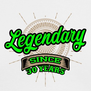 Legendary since 30 years t-shirt and hoodie - Men's Long Sleeve T-Shirt by Next Level