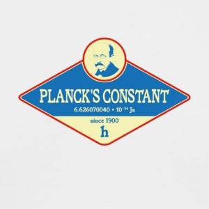 Planck's Constant - Men's Long Sleeve T-Shirt by Next Level