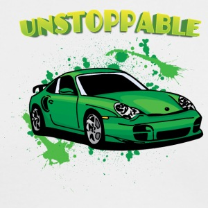 Unstoppable_Green_porsche_911 - Men's Long Sleeve T-Shirt by Next Level