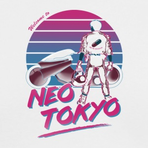 Welcome to Neo Tokyo - Men's Long Sleeve T-Shirt by Next Level