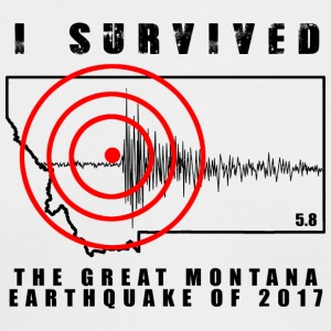 Great Montana Earthquake - Men's Long Sleeve T-Shirt by Next Level