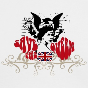 SAVE THE QUEEN - Men's Long Sleeve T-Shirt by Next Level