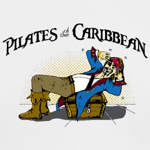 Pilates of the Caribbean - Men's Long Sleeve T-Shirt by Next Level