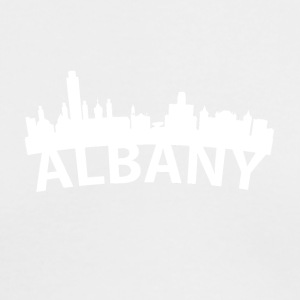 Arc Skyline Of Albany NY - Men's Long Sleeve T-Shirt by Next Level