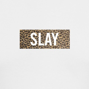 Slay Leopard - Men's Long Sleeve T-Shirt by Next Level