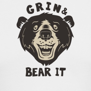 Grin And Bear It - Men's Long Sleeve T-Shirt by Next Level