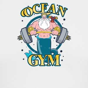 Ocean Gym - Men's Long Sleeve T-Shirt by Next Level