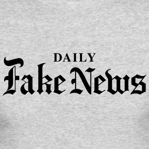 DAILY Fake News - Men's Long Sleeve T-Shirt by Next Level