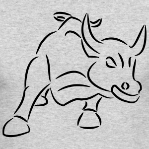 Bull Ride the Bull - Men's Long Sleeve T-Shirt by Next Level