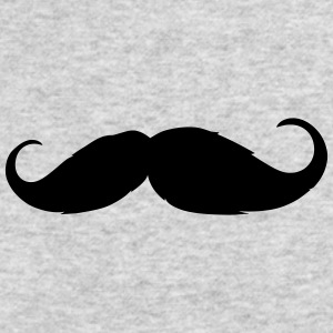 Moustache - Like a sir - Beard - Men's Long Sleeve T-Shirt by Next Level