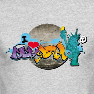 new_york_graffiti_001 - Men's Long Sleeve T-Shirt by Next Level