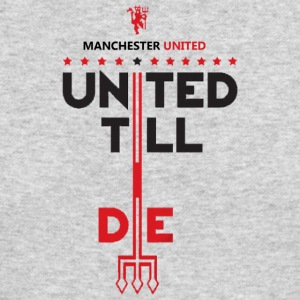 Manchester United Merchandise - Men's Long Sleeve T-Shirt by Next Level
