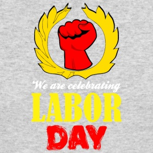 We Are Celebrating Labor Day Symbol - Men's Long Sleeve T-Shirt by Next Level
