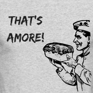 That's Amore - Men's Long Sleeve T-Shirt by Next Level