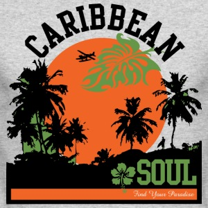 CARIBBEAN SOUL - Men's Long Sleeve T-Shirt by Next Level