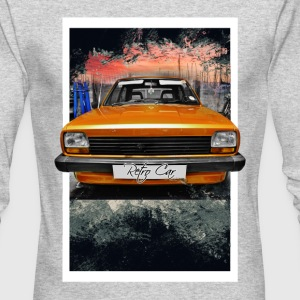retro car - Men's Long Sleeve T-Shirt by Next Level